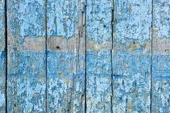 Legno blu scheggiato immagini stock