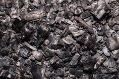 Legno bruciato Fotografia Stock