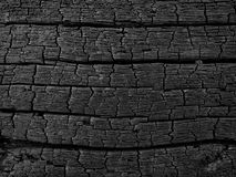 Legno carbonizzato 2 Fotografia Stock Libera da Diritti
