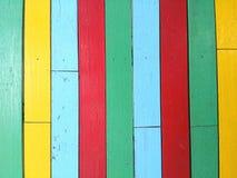 Legno Colourful Immagini Stock