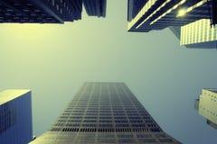 legno del grattacielo Immagine Stock