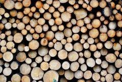 Legno del legname Fotografia Stock Libera da Diritti