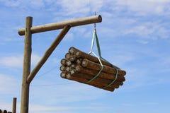 Legno del legname Immagini Stock