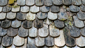 Legno del tetto Immagine Stock
