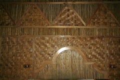 legno della decorazione della canna Immagini Stock Libere da Diritti