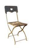 Legno della sedia isolato Immagine Stock Libera da Diritti