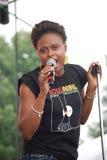 Legno di Ayiesha al festival di impulso di Wolrd Fotografia Stock Libera da Diritti