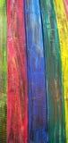 Legno di colore Fotografia Stock Libera da Diritti