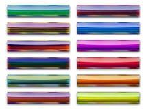 Legno di colore dei tasti Fotografia Stock Libera da Diritti