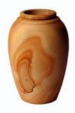 Legno di pietra del vaso Fotografia Stock Libera da Diritti