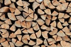 Legno di pino per l'accensione del forno Immagine Stock Libera da Diritti