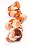 legno di puzzle 3D Fotografia Stock Libera da Diritti