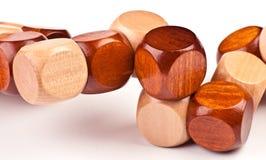 legno di puzzle 3D Fotografia Stock