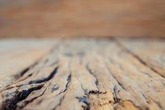 Legno di struttura fondo d'annata con il fuoco molle picchiettio naturale fotografie stock libere da diritti