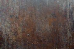 Legno di vecchio, marrone scuro fotografia stock