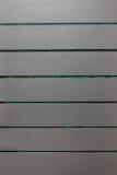 Legno grigio e fondo verde della carta da parati fotografia stock