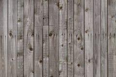 Legno grigio stagionato del granaio Fotografie Stock