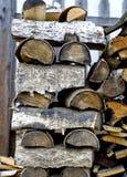 Legno, legna da ardere Fotografia Stock