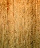 Legno male graffiato Fotografia Stock Libera da Diritti