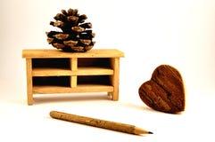 Legno & mobilia Fotografia Stock Libera da Diritti