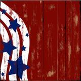Legno patriottico Fotografie Stock Libere da Diritti