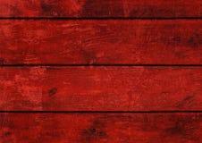 Legno rosso Fotografia Stock Libera da Diritti