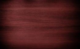 Legno rosso scuro Struttura di legno del pavimento non tappezzato Immagini Stock Libere da Diritti