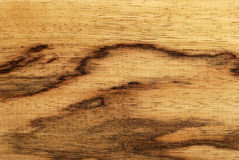 Legno spalted africano (limba) Fotografie Stock