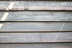Legno stagionato rustico del granaio con le tonalità visibili di grey Fotografia Stock Libera da Diritti