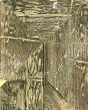 Legno Struttura della carta velina, del fondo o della struttura di marrone di bianco grigio Fotografie Stock