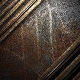 Legno sulla parete Fotografie Stock
