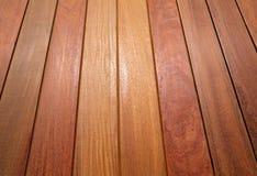 Legno tropicale di decking del tek del Ipe del modello di legno della piattaforma Immagine Stock Libera da Diritti
