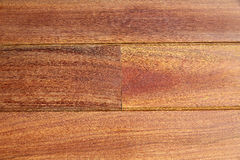 Legno tropicale di decking del tek del Ipe del modello di legno della piattaforma Fotografia Stock