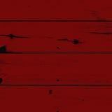 Legno verniciato rosso Fotografia Stock