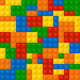 Lego块 库存例证