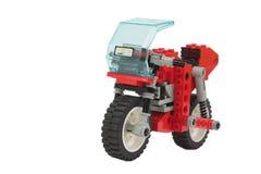 lego摩托车玩具 库存照片