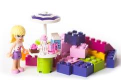 Lego块 免版税库存照片