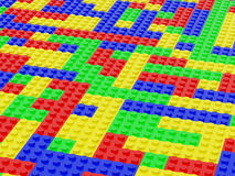 Lego stock illustratie