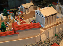Lego Acropolis royalty free stock photography