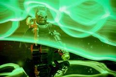 Lego Batman-minifigure stock foto's