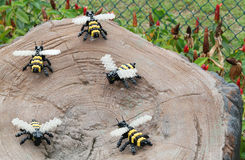 Lego Bee at Legoland Royalty Free Stock Photos