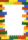 Lego block arkivfoton