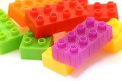 Lego-Block Stockfotografie