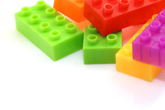 Lego-Block Stockbild