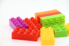 Lego-Block Stockfoto