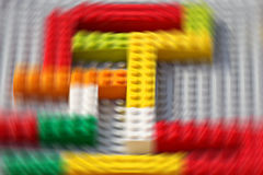 Lego blocks. With motion effect royalty free stock images