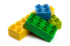 Lego Blocks Royalty Free Stock Photography