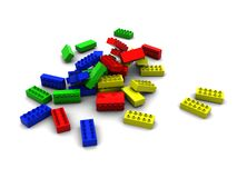 Lego blocks Stock Photography