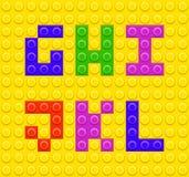 Lego blocks alphabet 2 Stock Photo