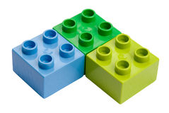 Lego Blocks III Royalty Free Stock Photos